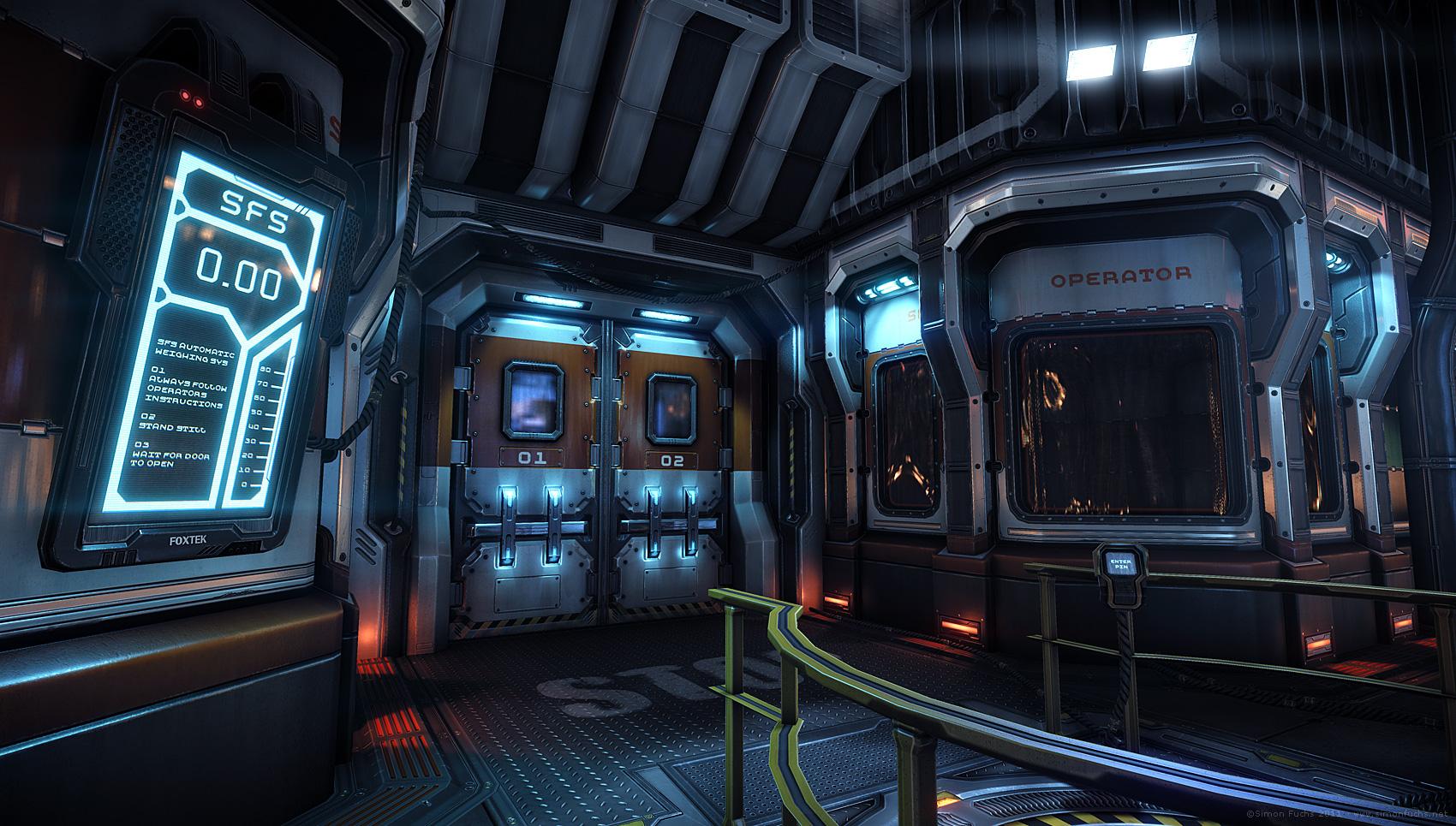 Interview simon fuchs level for Sci fi decor