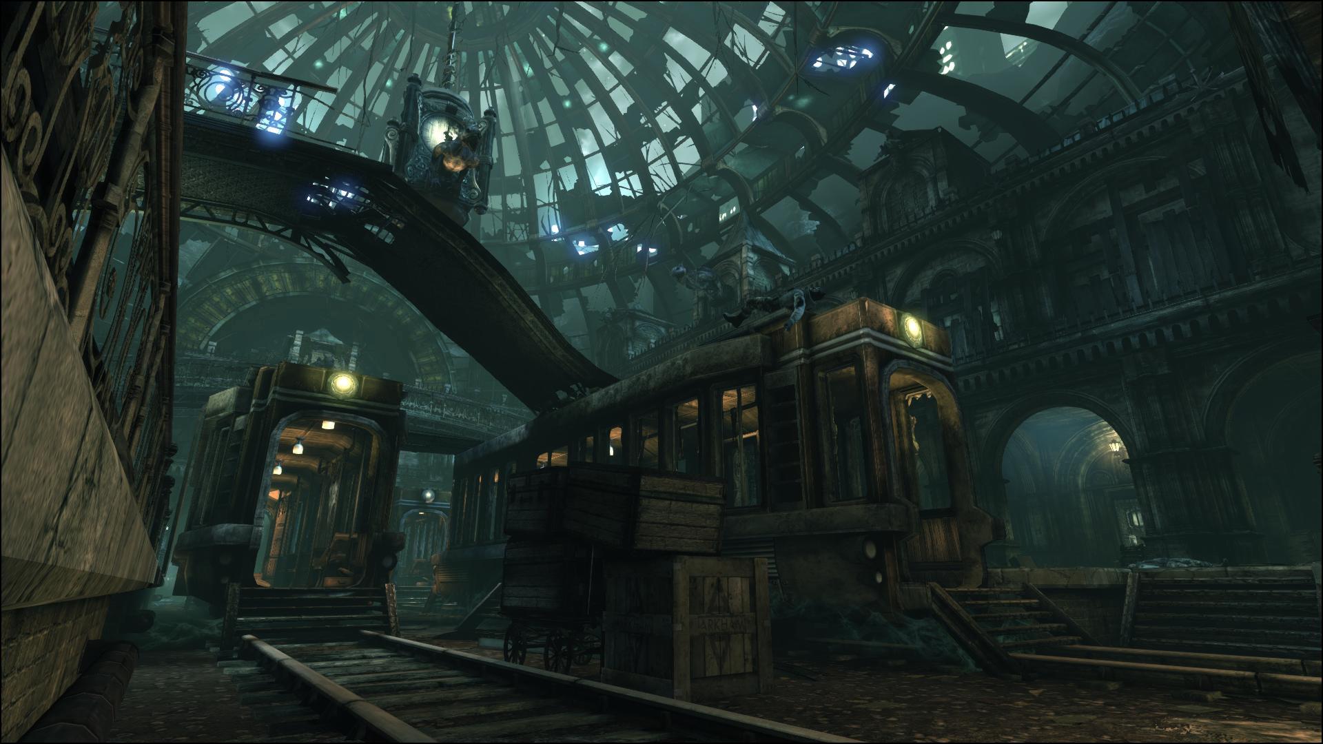 Batman Arkham City Art Dump Environments LEVEL DESIGNorg